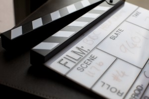clapper board from MGL Media