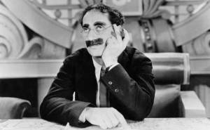 Groucho Marx - making comedy look easy