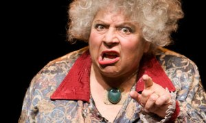 The superb actress, Miriam Margolyes