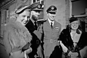 1940's themed day at great central railway, quorn, leicestershire