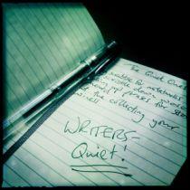 Writers - It's always the quiet ones!